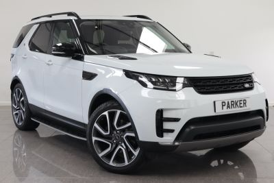 Land Rover Discovery 2.0 SD4 HSE 5dr Auto Estate Diesel Yulong WhiteLand Rover Discovery 2.0 SD4 HSE 5dr Auto Estate Diesel Yulong White at Parker Prestige Richmond
