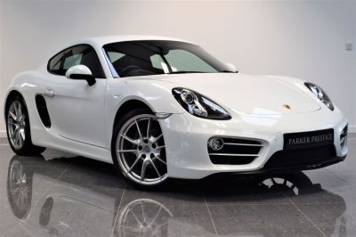 Porsche Cayman 2.7 2dr Coupe Petrol WhitePorsche Cayman 2.7 2dr Coupe Petrol White at Parker Prestige Richmond