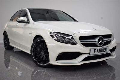 Mercedes-Benz C Class 4.0 C63 Premium 4dr Auto Saloon Petrol Diamond WhiteMercedes-Benz C Class 4.0 C63 Premium 4dr Auto Saloon Petrol Diamond White at Parker Prestige Richmond