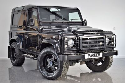 Land Rover Defender XS Station Wagon TDCi [2.2] TWISTED Four Wheel Drive Diesel Santorini BlackLand Rover Defender XS Station Wagon TDCi [2.2] TWISTED Four Wheel Drive Diesel Santorini Black at Parker Prestige Richmond