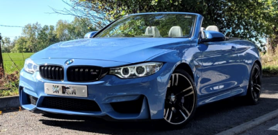 BMW M4 3.0 M4 2dr DCT Convertible Petrol Yas Marina BlueBMW M4 3.0 M4 2dr DCT Convertible Petrol Yas Marina Blue at Parker Prestige Richmond
