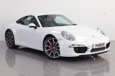 Porsche 911 3.8 S 2dr PDK Coupe Petrol Carrera WhitePorsche 911 3.8 S 2dr PDK Coupe Petrol Carrera White at Parker Prestige Richmond