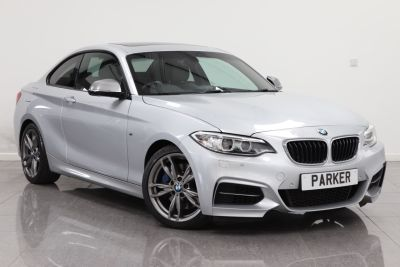 BMW 2 Series 3.0 M235i 2dr Step Auto Coupe Petrol Glacier Silver MetallicBMW 2 Series 3.0 M235i 2dr Step Auto Coupe Petrol Glacier Silver Metallic at Parker Prestige Richmond
